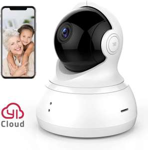 YI Dome Camera Pan/Tilt/Zoom Wireless IP Security Surveillance System 720p £23.99 @ Amazon sold by YI official store FBA