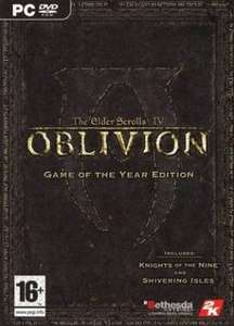 The Elder Scrolls IV: Oblivion GOTY PC  steam 3.12 LISTED PRICE Extra paypal payment fees Instant Gaming for £3.22