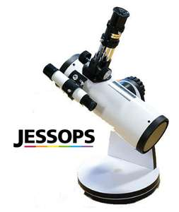 """3"""" Reflector Telescope W/ 2 Eyepieces (15X & 50X) + 3X Barlow Lens £29.97 @ Jessops (Free Click&Collect)"""