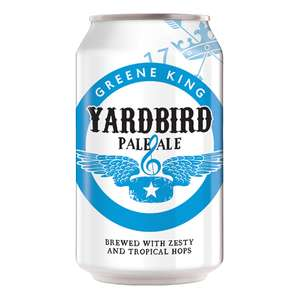 Greene King Yardbird Pale Ale and Noble Lager 330ml cans - 49p instore @ Home Bargains Stevenage.