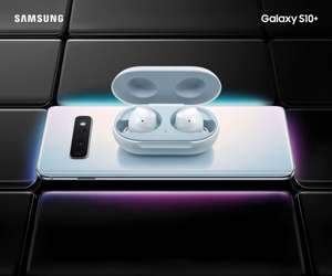 Samsung Galaxy S10/S10+ Save up to £300 on trade in /   Pre-order and get FREE Samsung Galaxy Buds!