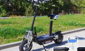 Viron 800W  £319.99 or 1000W £359.99 Adults' Off-Road Electric Commuter Scooter in Choice of Colour With Free Delivery via Groupon