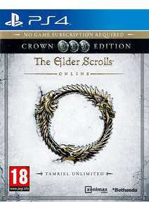 The Elder Scrolls Online: Tamriel Unlimited Crown Edition PS4 £2.99 Delivered at Simply Games