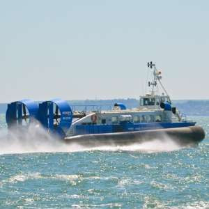 £30 Family Day Return to Isle of Wight by Hovercraft @ Hover Travel