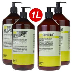 Eight Triple Eight Shampoo and Conditioner 1 litre bottles at Poundstretcher £1.99