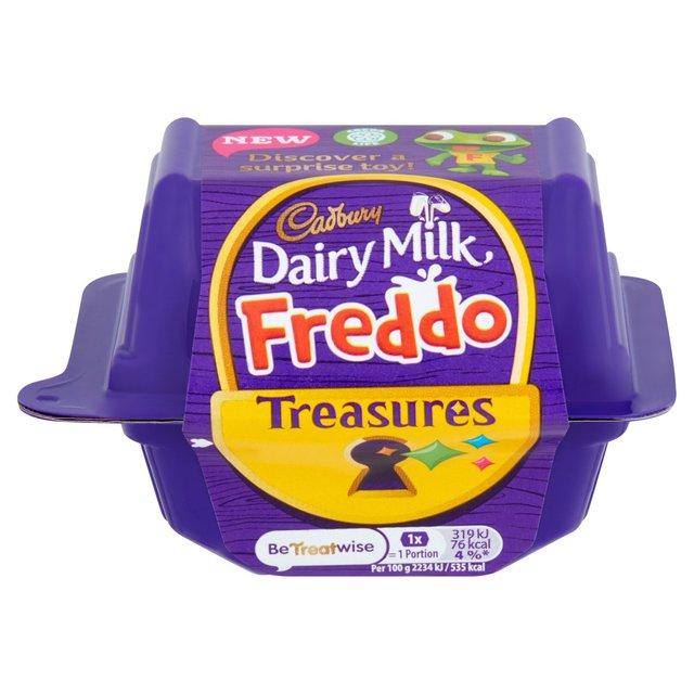 Cadbury Dairy Milk Freddo Treasures Chocolate with Toy 14g 3 for £2 @ Morrisons
