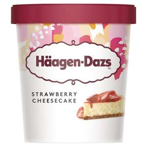 Haagen Dazs 460ml Strawberry Cheesecake icecream £1.53 instore @ Tesco