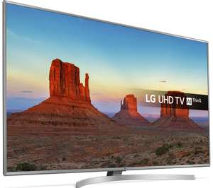 """LG 43UK6950PLB 43"""" Smart 4K Ultra HD HDR LED TV £379 from Currys"""