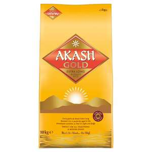 Akash Gold Extra Long Basmati Rice 10kg now £11 (instore only) @ Tesco
