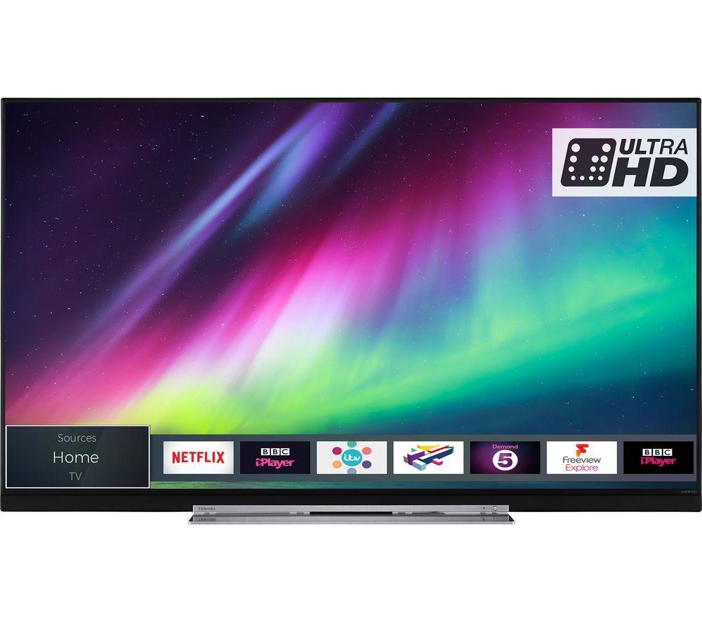 "TOSHIBA 49U7863DB 49"" Smart 4K Ultra HD HDR LED TV £349 / 55'' £419 @ Currys"