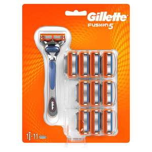 Gillette Fusion5 Razor + Blades 10pk £15 @ Boots Free C+C and in store
