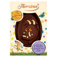 Thorntons The Gruffalo / Cupcake / Butterfly / Football / White Bunny Chocolate Easter Egg £2 @ Asda