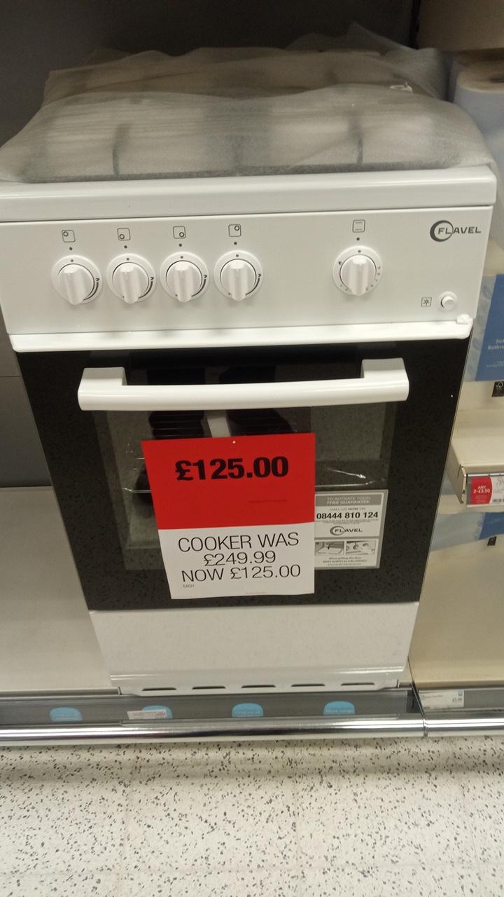 Flavel gas cooker £125 - Okehampton Co-op (in store)