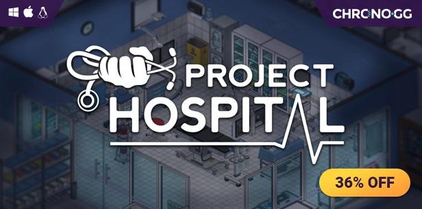 Project Hospital (PC) @ Chrono.gg  £12.24 Steam Key