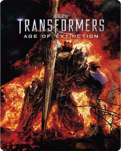 Transformers: Age of Extinction (Steel Book) [Blu-ray] £8 @ Zoom