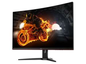 "Has the AOC CQ32G1 arrived? AOC CQ32G1 31.5"" Widescreen VA LED Black/Red Curved Monitor £319.99 @ Amazon"