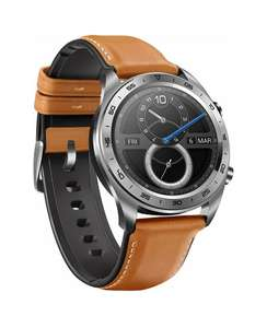 Reduced Again - HONOR Smartwatch in classic watch design with 3 cm (1.2 inch) AMOLED Display £120.70 @ Amazon