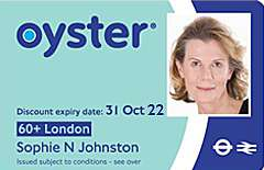 Pay £20 and get Unlimited Travel on Transport Services with Oyster Photocard for Over 60s - London Borough Residents