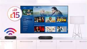 Sky Q/Entertainment £15 for Broadband customers (18 months = £270) @ Sky