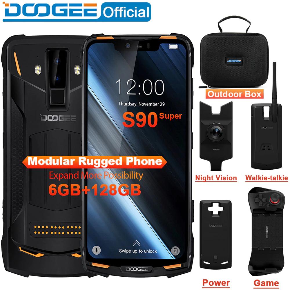 DOOGEE S90 IP68/IP69K 6.18inch 5050mAh Helio P60 Octa Core 6GB 128GB @ Aliexpress / DOOGEE Official