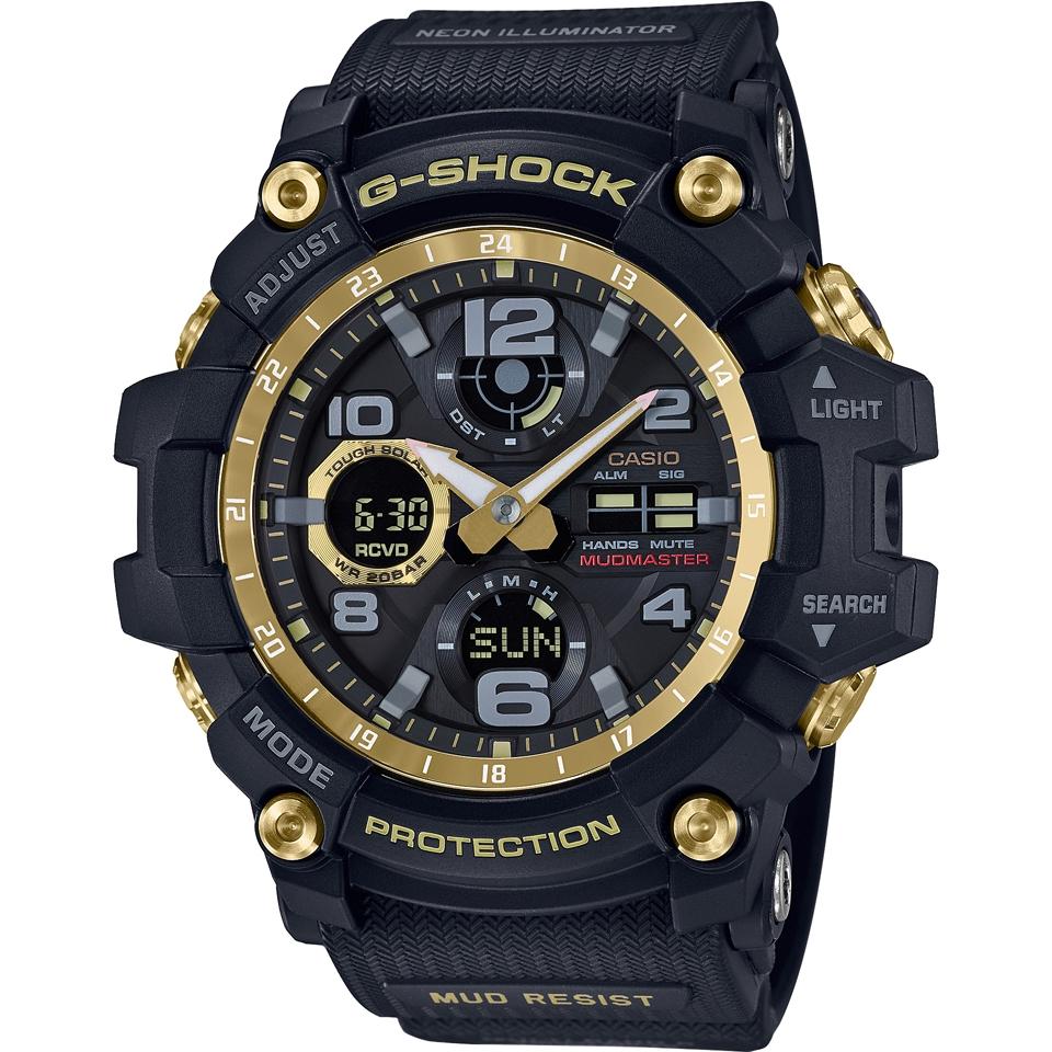 Casio Mens G-Shock Mudmaster Watch GWG-100GB-1AER with Sapphire Crystal Glass now £129 + free NDD w/code @ Watches2u