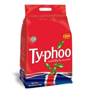 900 Typhoo Teabags for £9.00 at The Food Warehouse