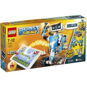 LEGO Boost 2017 (17101) ONLY £99.99 with free delivery @ TheHut