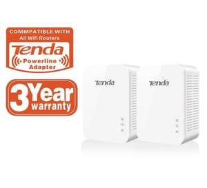 Tenda PH3 Gigabit Powerline Adapter Kit with UK Plugs 1000Mbps - Pack of 2 - £22.99 delivered @ 7dayshop