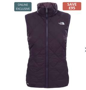 Ladies berry/purple North Face 700 fill down Gilet £42 @ Costwold Outdoor