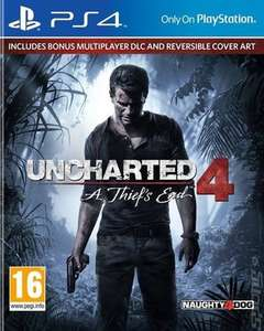 Uncharted 4: A Thief's End PS4 (pre-owned)  £7.55 with code @ MusicMagpie