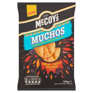 McCoy's Muchos - Smokey Chilli Chicken Crisps - 180G - Tesco/Asda/Sainsburys - £1 (and other flavours)