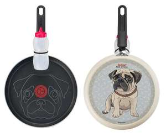 Tefal Puppy Dog 25cm Non Stick Pancake Pan Set (Pug Pancakes!!) £12.00 @ Asda C&C (Online & Instore)