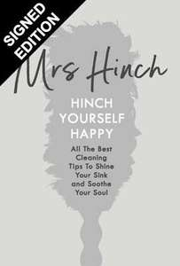 Mrs Hinch - Signed Edition of 'Hinch Yourself Happy' at WH Smiths for £7.79 (free C&C)