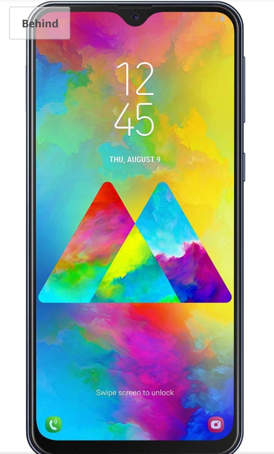 "Samsung Galaxy M20 Smartphone, FHD + Infinity V Display 6.3 "" 4GB RAM, 64GB ROM, Black/Blue £203 w/Fee Free - £208.48 without @ Amazon Spain"
