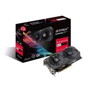 Asus RX 570 4GB OC ROG STRIX Graphics Card, £144.99 @ ebuyer (free cooler+2 games free)