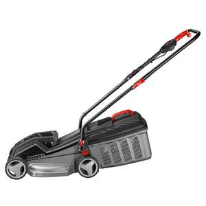 Ozito 1250W Electric Lawn Mower - 33cm  £30.00 @ Homebase free C&C ( 3 Year Warranty )