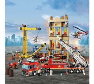 20% Off Lego City eg Downtown Fire Brigade £71.99 @ The Entertainer