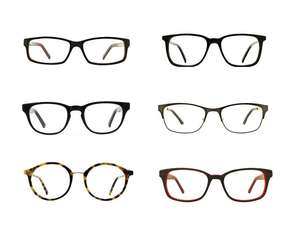 862441b9e745 2 pairs of Prescription Glasses for £17 delivered with code   Glasses Direct