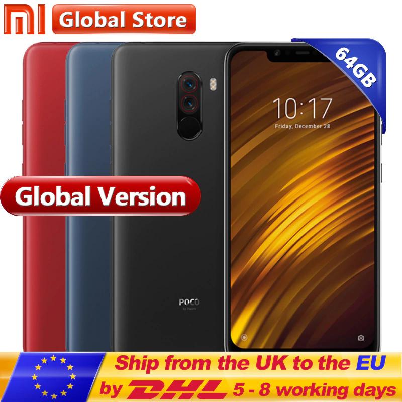"Global Version Xiaomi POCOPHONE F1 6GB 64GB POCO F1 Smartphone Snapdragon 845 6.18"" screen £218.97 @ aliexpress / Mi Global Store"