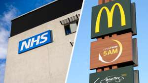 50% off meals at certain McDonald's restaurants for Emergency Services personnel (NHS, Police, Fire Brigade)