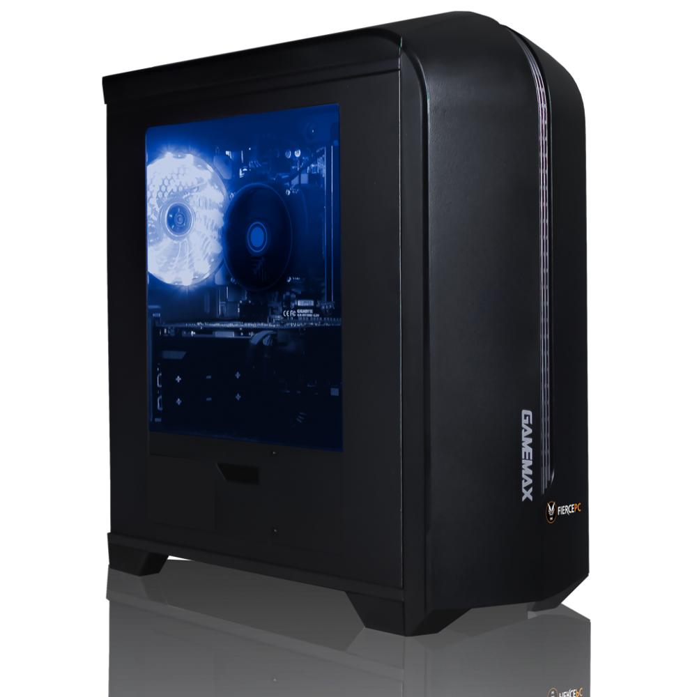 Fierce PC: Mirage - Ryzen 3 2300X 3.5GHz (4.0 GHz Turbo) Quad Core, Wraith Stealth Cooler, RX570 8GB, 8GB 2666hz DDR4  240GB SSD £399.95