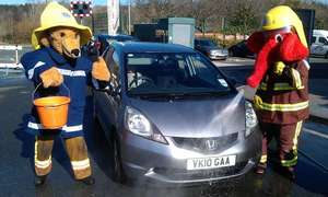Let Fire Fighters wash your car for charity - Pay what you like