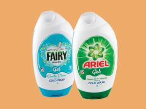 Ariel/Fairy 888ml £2.50 @ Lidl NI from 28/2/19-06/03/19
