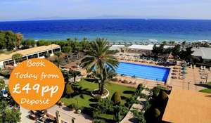 Rhodes, 4* All-Inc Week w/Kids Stay FREE fr £297pp at Blue Sea Holidays