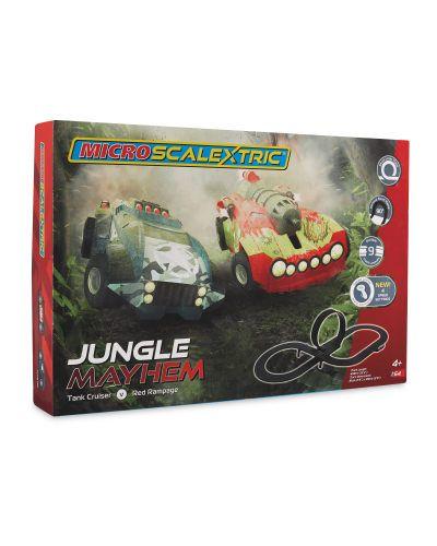 Micro Scalextric SetJungle mayhem **INSTORE ALDI** £14.99