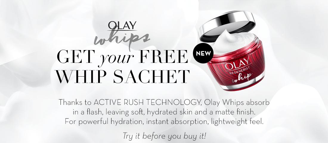 Free Olay Whipped Sachet