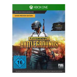 Playerunknown's Battlegrounds – Game Preview Edition Xbox One £7.17  (£6.89 using fee free card) from Amazon Germany