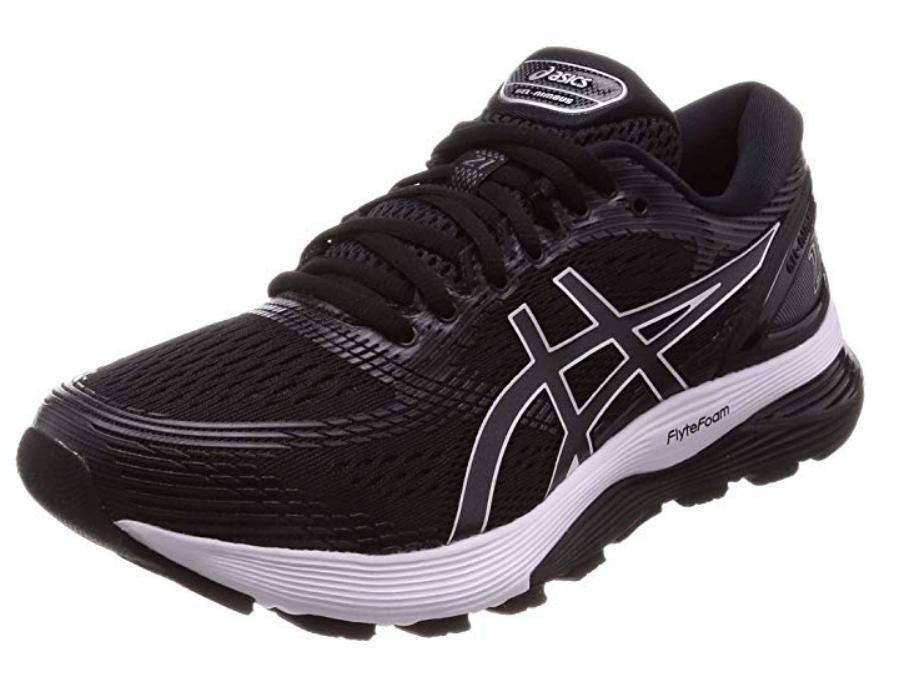 ASICS Men's Gel-Nimbus 21 Running Shoes - Black (selected sizes)  £105  Amazon