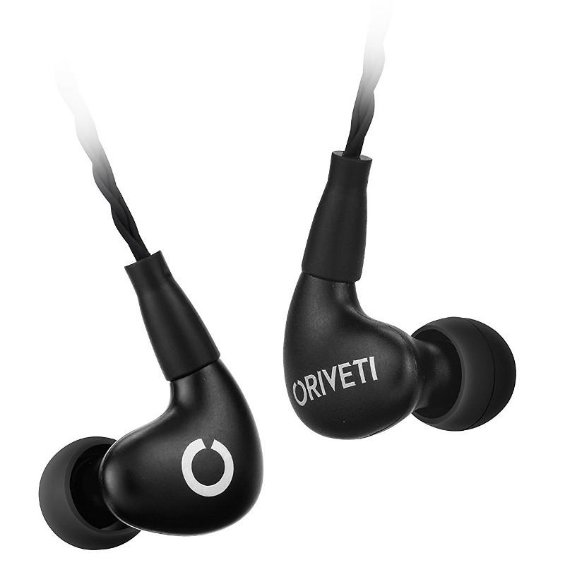 Oriveti New Primacy Hybrid Triple Drivers IEM Earphones with Detachable Cable - Black - hifiheadphones.co.uk - £209.99