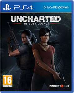 Uncharted - Lost Legacy (PS4) £12.99 pre-owned at GAME - Also included in 2 for £20 Deal